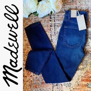 Madewell Curvy High-Rise Skinny Jeans Size…